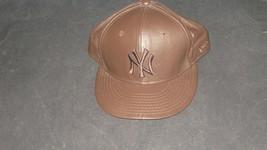 New Era  New York Yankees Cap Fitted Mens Sz 7 3/8 Brown  - €11,05 EUR