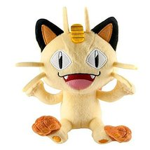 8 Inch Officially Licensed Meowth Pokemon Plush with Tags - $29.95
