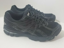 Asics GT 1000 3 Womens Size 8.5 Black Athletic Running Sneakers T4K8N - $39.90