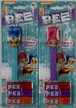 Shimmer & Shine Pez Dispensers in Blister Card Packaging with 3 Rolls of Candy - - $10.59