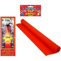 1 Hollywood Red Carpet Floor Runner Oscars VIP Party Aisle Decoration Prop - $8.73