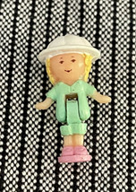 Vintage 1992 Polly Pocket Elephant Pen Pal Pencil Topper Replacement Doll - $12.99