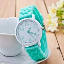 Casual Watch Geneva Unisex Quartz watch 7color men women Analog wristwat... - $2.12+