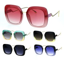 Womens Crooked Bolt Arm Mod Thick Plastic Designer Fashion Sunglasses - $14.95