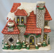 Lefton Colonial Village 06338 Stone House, no Light or Box - $49.39