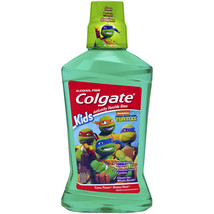 Colgate Kids Teenage Ninja Turtle Turtle Power Bubble Fruit Rinse, 16.9 fl oz - $5.94