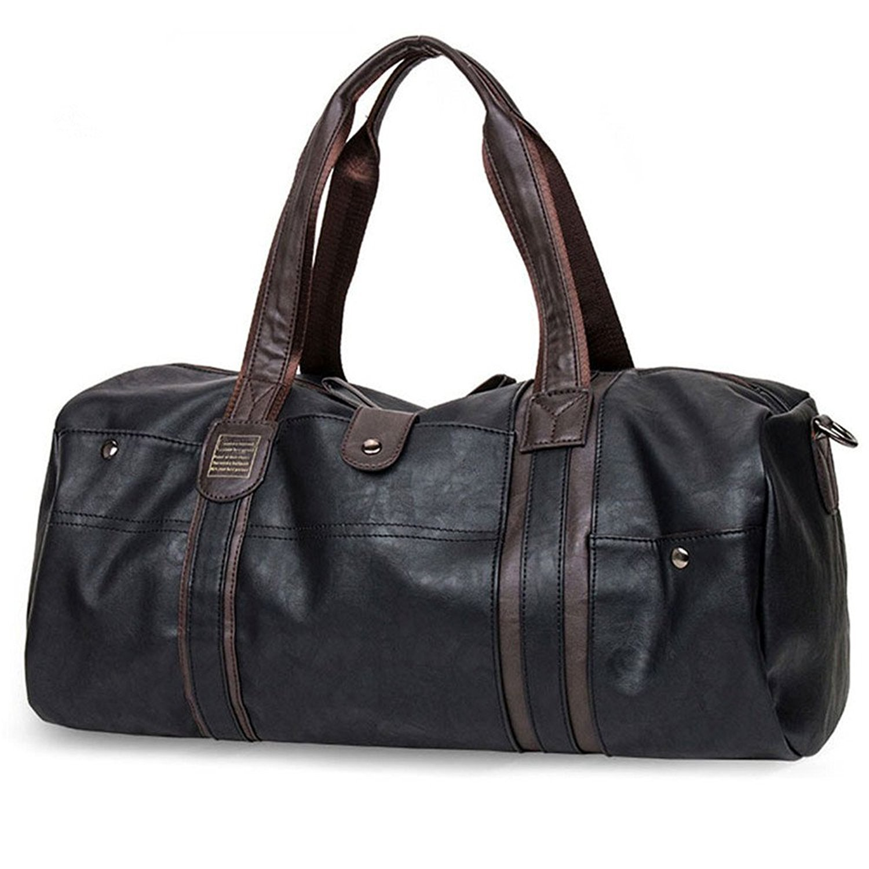 87855effe7fd Mens Travel Bags PU Leather Sports Duffel and 50 similar items.  618xnugi29l. ul1500