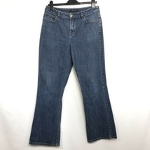 Anne Klein Women's Boot Cut Medium Wash Jeans Sz 10 - $13.07