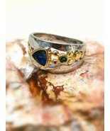 *jinn ring*  witchcraft owned vintage special SOLOMON Symbol of Djinn si... - $50.71