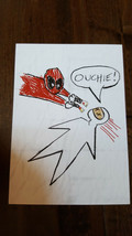 2016 Sdcc Comic contro Esclusivo Geek Carburante Marvel Deadpool Ouchie ... - $14.84