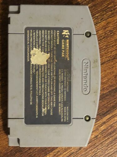 N64 Knife Edge: Nose Gunner Nintendo 64 N64 Authentic / Cleaned / Tested!  image 2