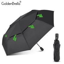 GoldenBrella® Big Wind Resistance Umbrella For Men Quality DoubleLayer F... - $28.06
