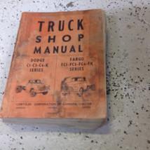 1956 1957 1958 Dodge Chrysler Fargo Truck Service Shop Repair Manual CDN OEM Wor - $118.75