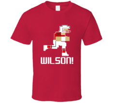 Bobo Wilson # 85 Tecmo Bowl Tampa Bay Football Athlete Fan T Shirt - $20.99+