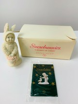 Department 56 Snowbunnies Basket of Cheer 56.05725  With  Box - $12.99