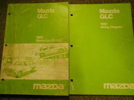1980 Mazda Glc Service Reparatur Shop Manuell Set Fabrik OEM Bücher Selt... - $11.54