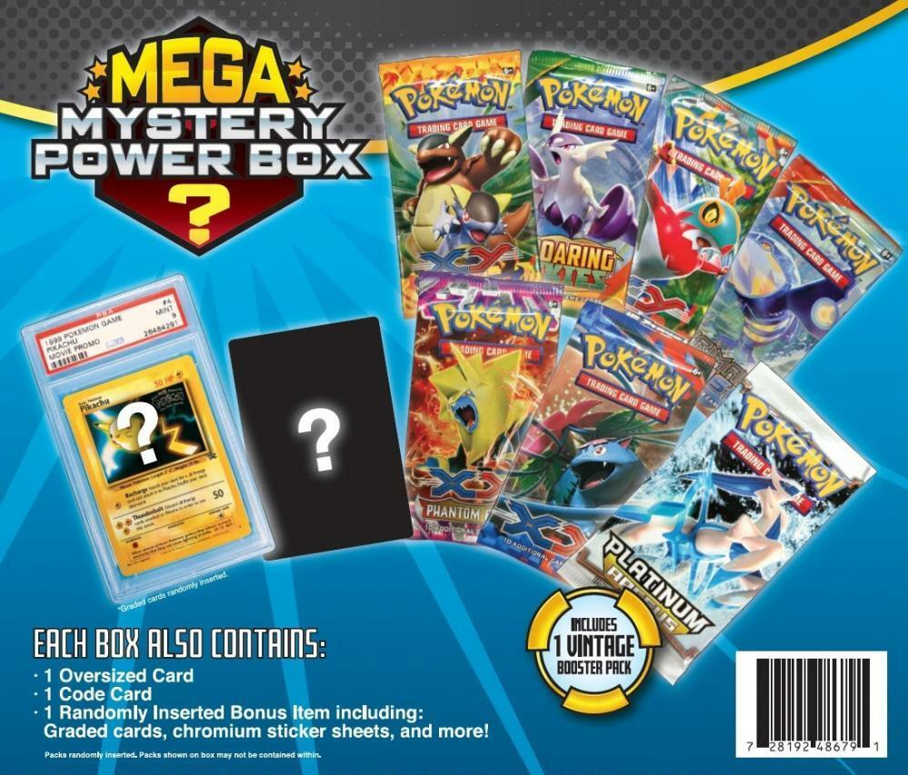 Pokemon Mega Mystery Box
