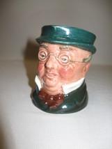 "Royal Doulton Toby Jug Mr Pickwick D6260 3 1/4"" High  England 1947-1960 - $19.95"