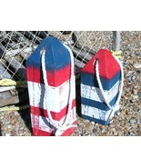 Maine Lobster buoys, Nautical Decor, Wooden Decorative Buoys, Fishing Buoys - £30.60 GBP