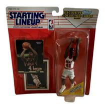 NBA Starting Lineup SLU Glen Rice Action Figure Miami Heat 1993 Kenner - $13.09