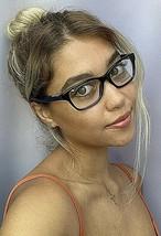 New BURBERRY B 4421 3511 Rx Black 53mm Cats Eye Women's Eyeglasses Frame  - $149.99