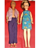 Ideal Dolls - Tammy Family Dolls ( Dad & Mom) - $34.95