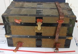 """Antique Doll Trunk with Insert 16"""" x 9"""" x 9-1/4"""" - $140.25"""