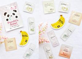 New Korean Skincare Samples 16-Piece Foil Sample Lot - $54.00