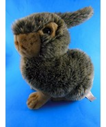 Bunny Rabbit Plush Brown Tan 13 inch Easter by Dan Dee Collectors Choice  - $9.89