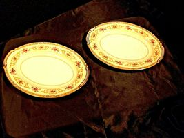 Noritake China Japan (Colby Pattern # 5032) serving platters AA19-1490 Vintage image 3