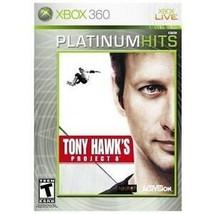 Tony Hawk's Project 8 Enhanced -- Platinum Hits (Microsoft Xbox 360, 2007) - $9.89