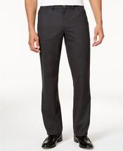 Alfani Black Ice Heather Mens Soft-Touch Four-Pocket Flat Front Pants - ... - $21.95