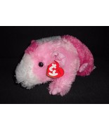 Ty Classic Pinky Guinea Pig Hamster Plush Stuffed Animal 2011 Tags Pink ... - $14.73