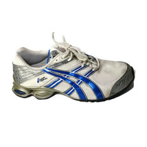 Asics Gel-Frantic Shoes Amputee RIGHT SHOE Men Size 10.5 White Blue TN647 - $14.84