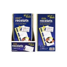 Write n Stick Receipt Books - 200 Count - Pack of 3 - $25.24