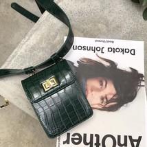 Belt Bag Women Vintage Crocodile Travel Waist Wallet Small Clutch Purse ... - $29.99
