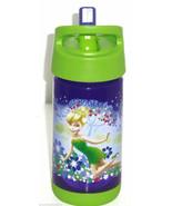 Disney  Tinker Bell Fairy Plastic Water Bottle Drink Purple Lime Green 2015 - $34.95