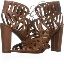 Jessica Simpson Emagine Lace Up Sandals 005, Burnt Umber, 9 US / 39 EU - $43.19