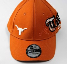New Era 39Thirty Texas Longhorns Cap Hat Men's Stretch Fit Medium-Large M/L - $27.84