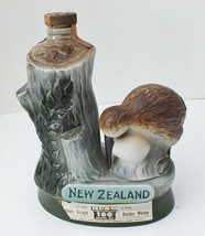 "1974 "" New Zealand Kiwi Bird ""Jim Beam Whiskey Decanter - $13.10"