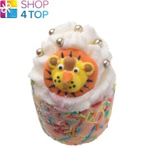 HOT LION BLING BATH MALLOW BOMB COSMETICS CARAMEL PINK PEPPER HANDMADE N... - $3.85