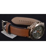 New Fossil Men's $155 Privateer Sport Chronograph Luggage Leather Watch ... - $98.01