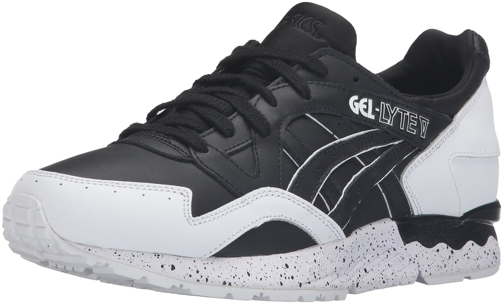 ASICS Men's Gel-Lyte V Fashion Sneaker, Black, 9 M US