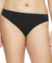 Calvin Klein Womens Plus Size Form Stretch Bikini Panty Black NWT