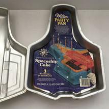 vintage 1979 wilton party pans two spaceship cake pans baking supplies birthday - $19.80