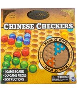 Wooden Chinese Checkers Game w - $19.99