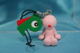 Fujiko F Fujio Characters Mini Figure Strap P4 Copy Robot Perman P badge... - $11.99