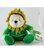 RARE 2006 USPS ELH Sunflower USA 39 Cent Stamp Plush Teddy Bear  - $9.70