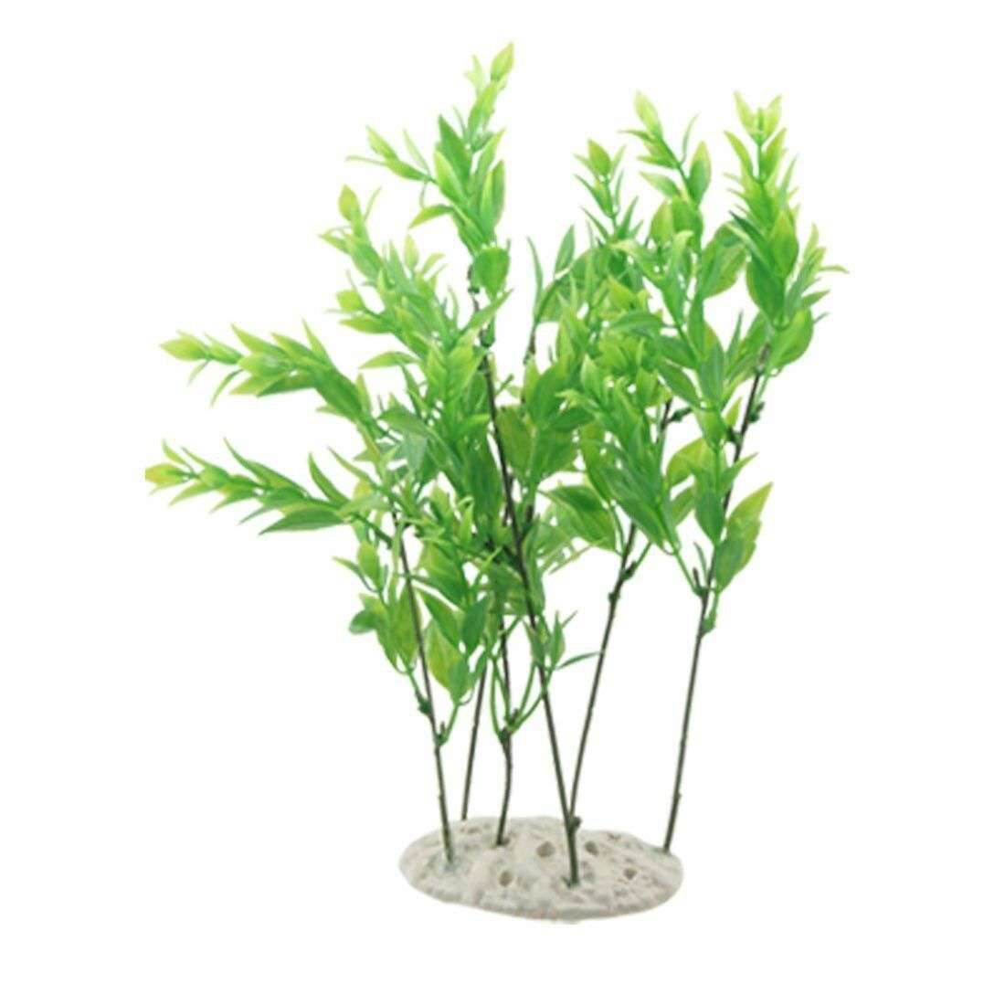 Jardin Decorative Plastic Aquascaping Grass Aquarium Plant Ornament, Green NEW