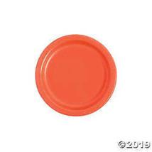 Coral Paper Dessert Plates - $3.86